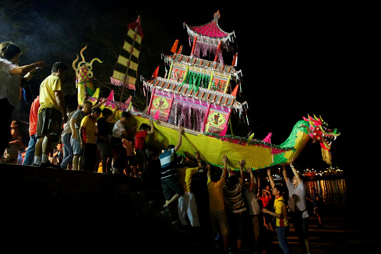 Taoist Nine Emperor Gods festival in Singapore