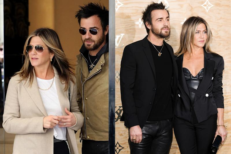 The couple was in Paris for a Louis Vuitton dinner.