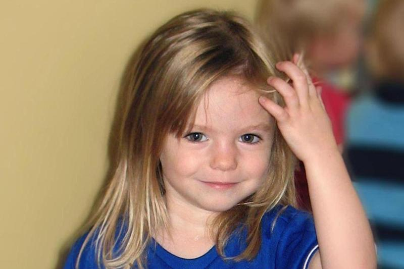 Missing : A photo of Madeleine as the tenth anniversary of her disappearance approaches: PA