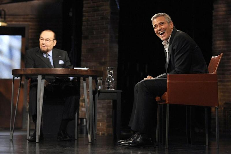 James Lipton and George Clooney | Anthony Behar/Bravo/NBCU Photo Bank