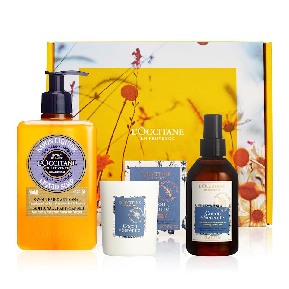 L'Occitane relaxation bundle Mother's Day Gift