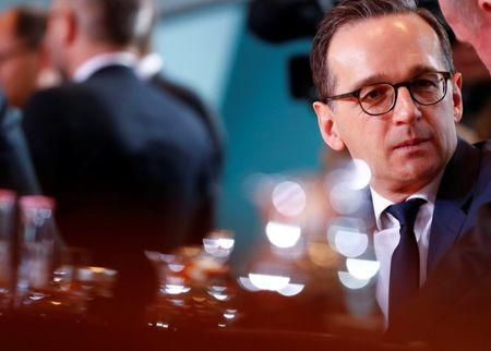FILE PHOTO: German Justice Minister Maas attends a cabinet meeting at the Chancellery in Berlin
