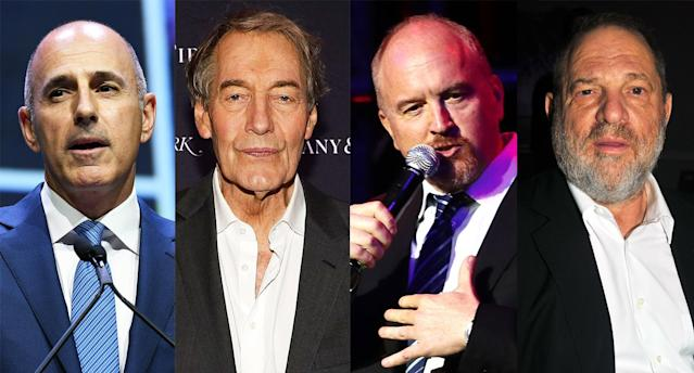 We look at the words Matt Lauer, Charlie Rose, Louis C.K., Harvey Weinstein, and others have used in their apologies after being accused of sexual misconduct. (Photo: Getty Images)