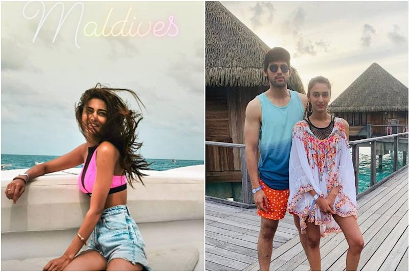 Erica Fernandes, Parth Samthaan Vacationing in Maldives