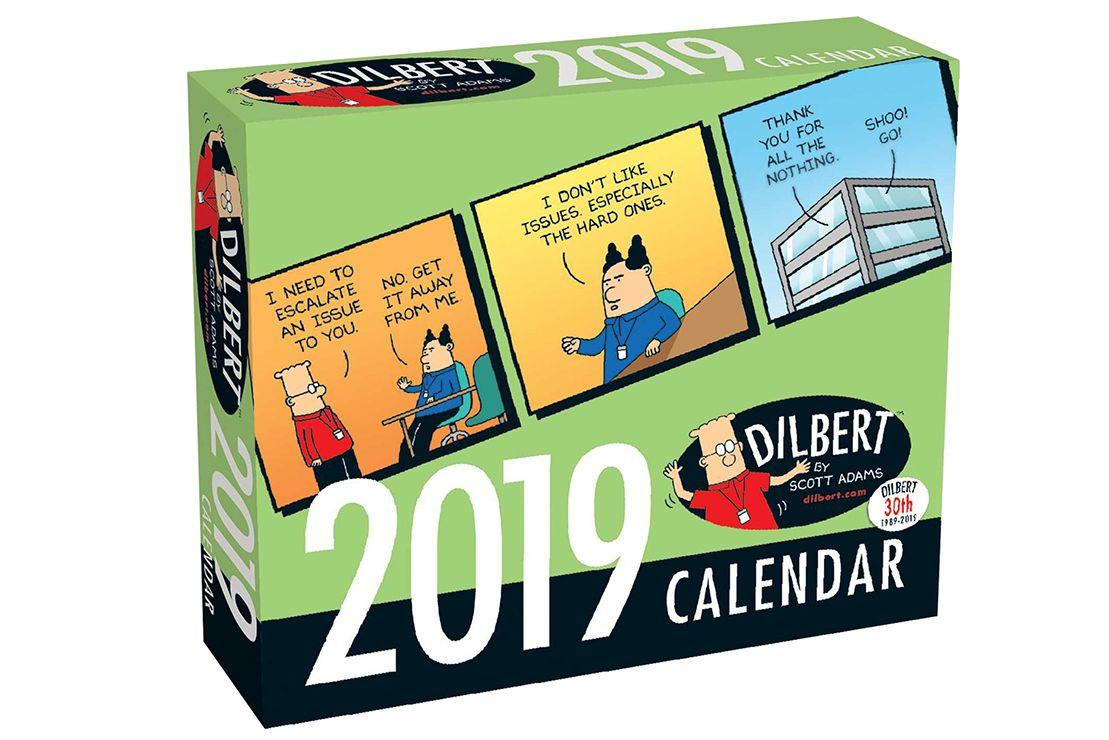 "<p><strong>2019 Calendars</strong></p><p>amazon.com</p><p><strong>$13.49</strong></p><p><a rel=""nofollow"" href=""http://www.amazon.com/dp/144949224X/"">Buy</a></p><p>This classic will get them through 365 days of work-induced madness. </p>"