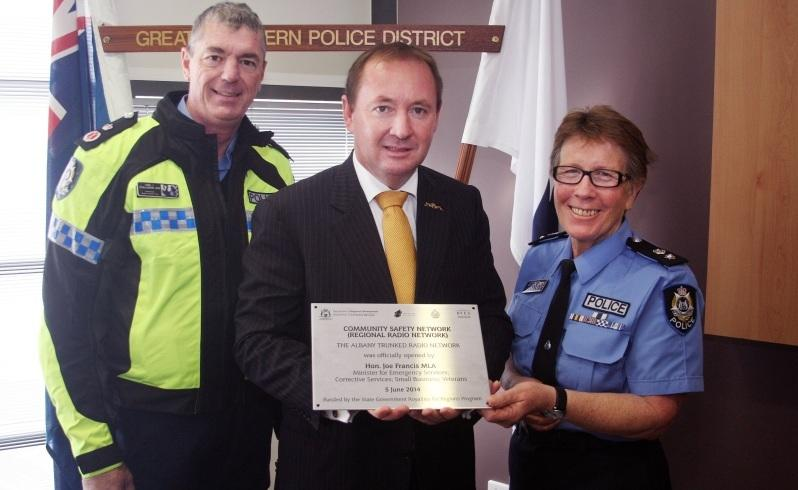 Emergency services get new secure radio network