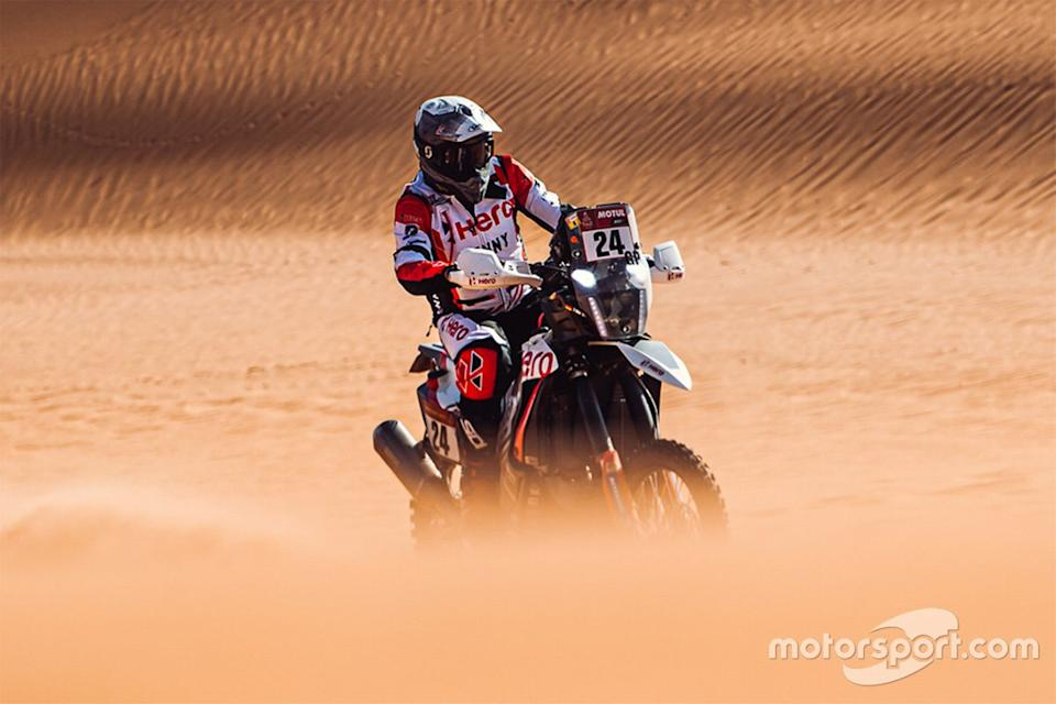"#24 Hero Motorsports Team Rally: Sebastian Bühler<span class=""copyright"">Hero MotoCorp</span>"