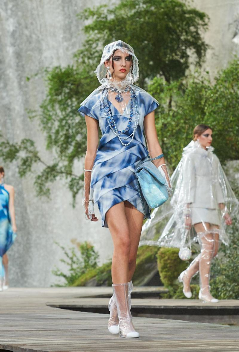 Spring/Summer is looking very wet for Chanel. Photo: Chanel