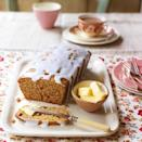 """<p>This loaf cake cuts beautifully and is at its best when spread with butter and served with a cup of tea.</p><p><strong>Recipe: <a href=""""https://www.goodhousekeeping.com/uk/food/recipes/a535455/honey-spice-loaf-cake-recipe/"""" rel=""""nofollow noopener"""" target=""""_blank"""" data-ylk=""""slk:Honey and Spice Loaf"""" class=""""link rapid-noclick-resp"""">Honey and Spice Loaf</a></strong></p>"""