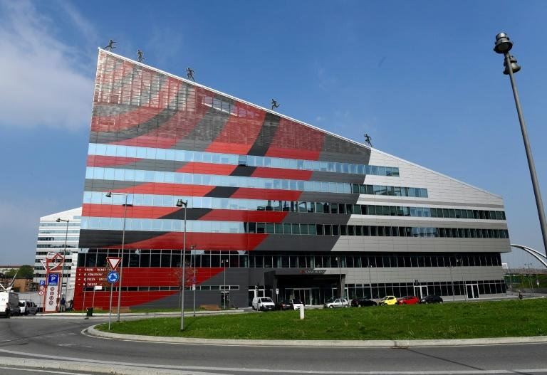 """""""Casa Milan"""" -- the headquarters of the seven-time European champions"""