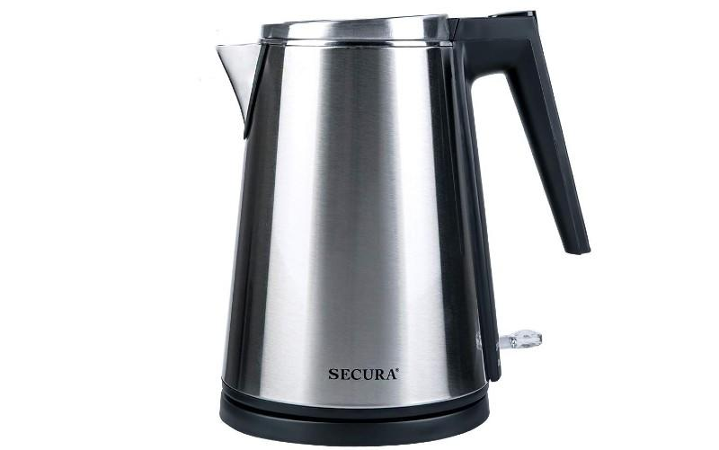 Secura K15-F1E The Original Double Wall Stainless Steel Electric Kettle. (Photo: Amazon)
