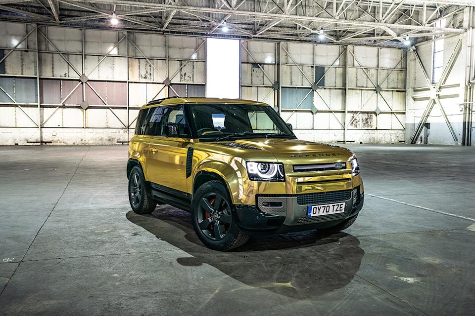 The Land Rover Defender has been named Top Gear's car of the year (BBC/PA)