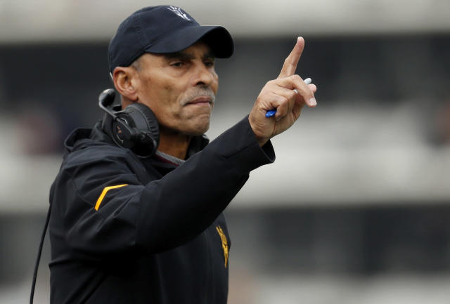 Will Arizona State head coach Herm Edwards end his first year on the job with a win? (AP)