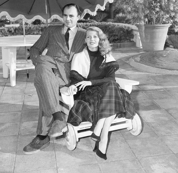 Rita Hayworth and Aly Khan