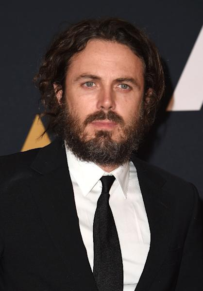"Casey Affleck, pictured in 2016, is nominated for best actor for his performance in ""Manchester By The Sea"" (AFP Photo/Valerie Macon)"