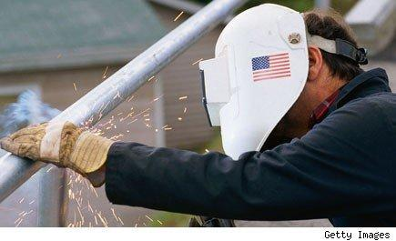 Manufacturing jobs are on the rebound.