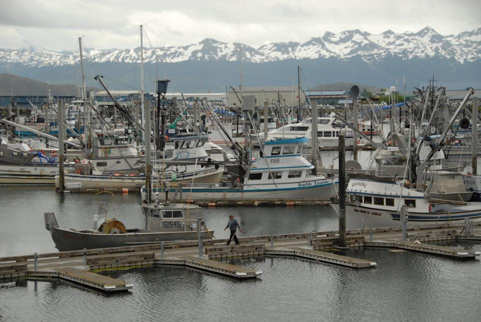 El puerto de Cordova, en Alaska. (Photo by Bob Hallinen/Anchorage Daily News/Tribune News Service via Getty Images)