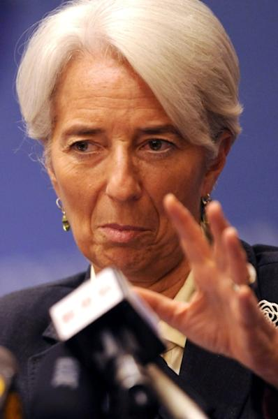 The head of the International Monetary Fund (IMF), Christine Lagarde