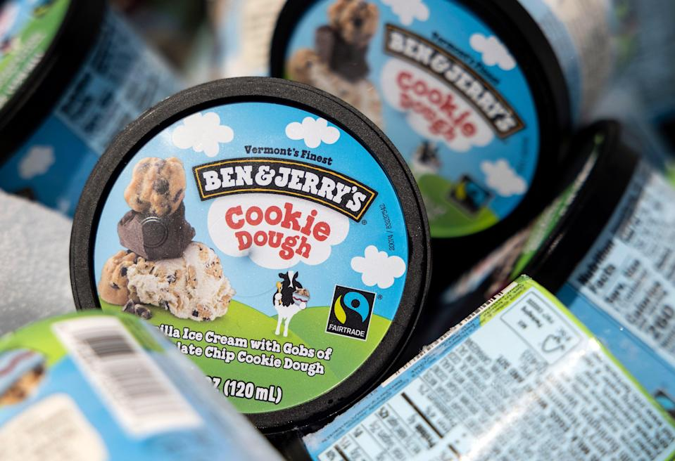 Unilever subsidiary Ben & Jerry's has said it will stop sales in occupied Palestinian territories (Getty Images)