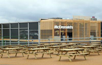 New McDonald's in Olympic Park. Photo credit: Getty