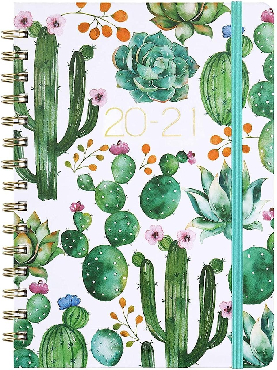 <p>How cute are all the cacti on this <span>Weekly & Monthly 2021 Planner</span> ($14)?</p>