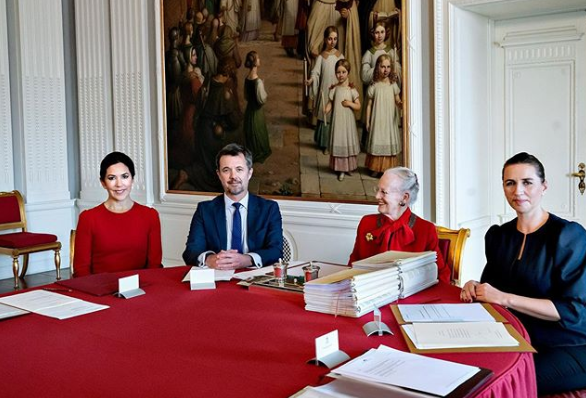 Princess Mary can now act as Denmark's Queen. Photo: Instagram/detdanskekongehus.