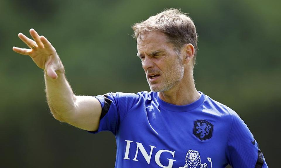 Frank de Boer graced his country as a player but still has his critics as the manager of the Netherlands.
