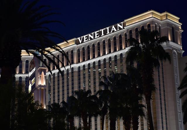 The Venetian resort is shown in Las Vegas, Nevada, U.S., August 25, 2016. (Reuters)