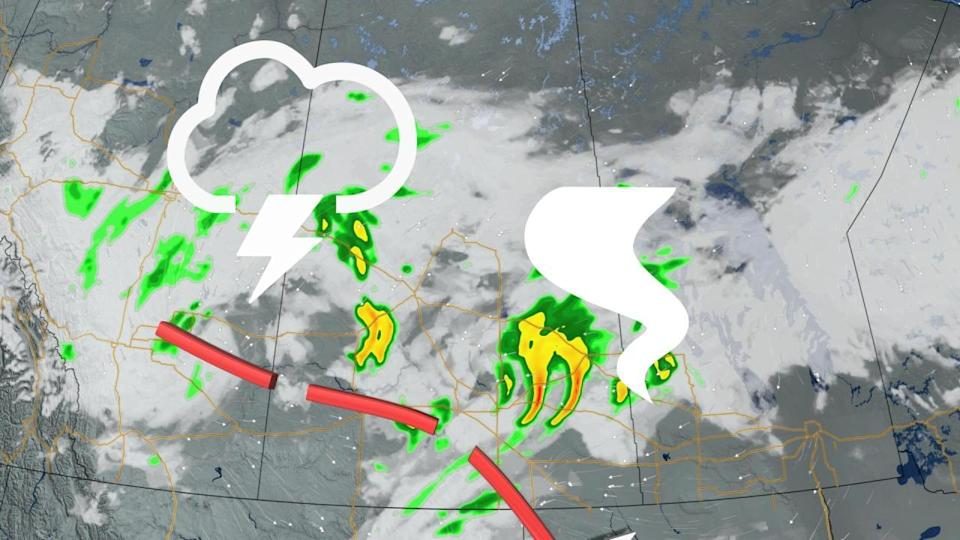 After severe storms Monday night, a summer chill continues on the Prairies