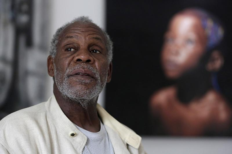 U.S actor Danny Glover speaks to The Associated Press during an interview in Lagos, Nigeria - fa6f97e9bb53a228810f6a7067005886