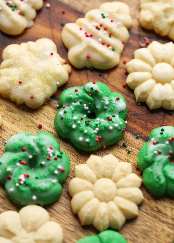 """<p>Originating from the German word <em>Spritzen</em>, which means """"to squirt,"""" classic spritz cookies are made using a cookie press. The European tradition has held strong throughout the Midwest, and South Dakota residents are known to pull out their presses around the holidays.</p><p>Get the recipe from <a href=""""https://cookiesandcups.com/perfect-spritz-cookies/"""" rel=""""nofollow noopener"""" target=""""_blank"""" data-ylk=""""slk:Cookies & Cups"""" class=""""link rapid-noclick-resp"""">Cookies & Cups</a>.</p>"""