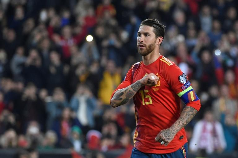 Centre-back Ramos has scored 16 goals for club and country this term