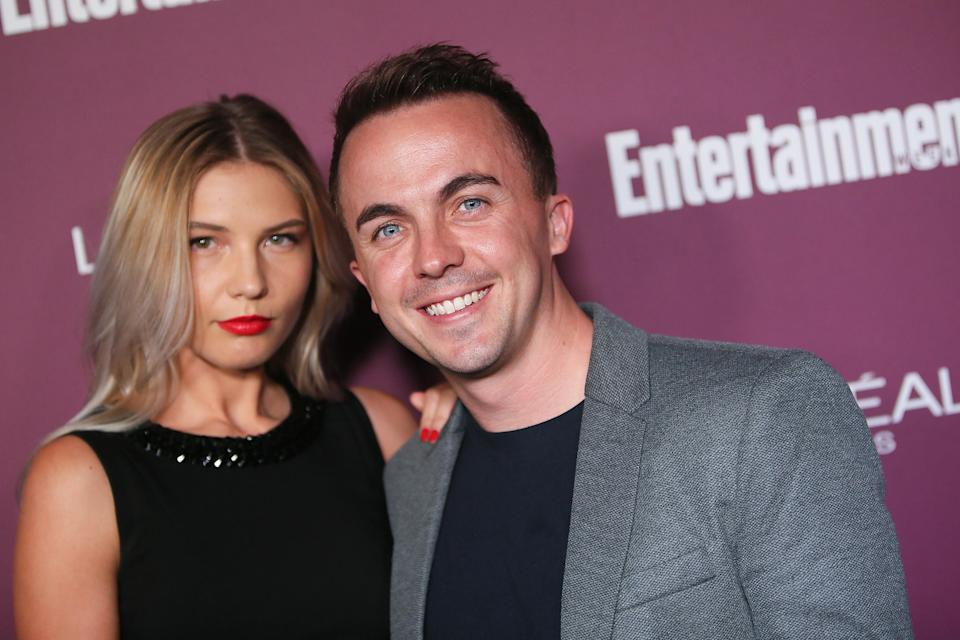 Paige Price and Frankie Muniz, pictured in September 2017, are engaged. (Photo: David Livingston/Getty Images)