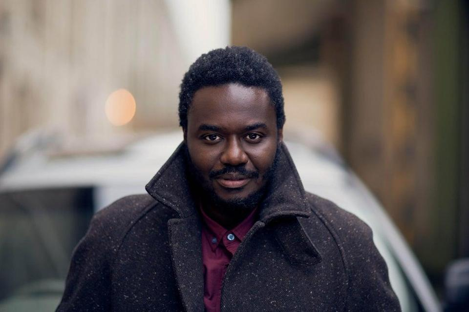 Babou Ceesay stars as an unorthodox forensic scientist (AbbotVision / Sky UK Ltd)