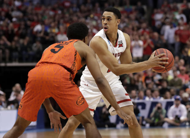 Texas Tech freshman shooting guard Zhaire Smith connected on 47.6 percent of his shots during the tournament. (AP)