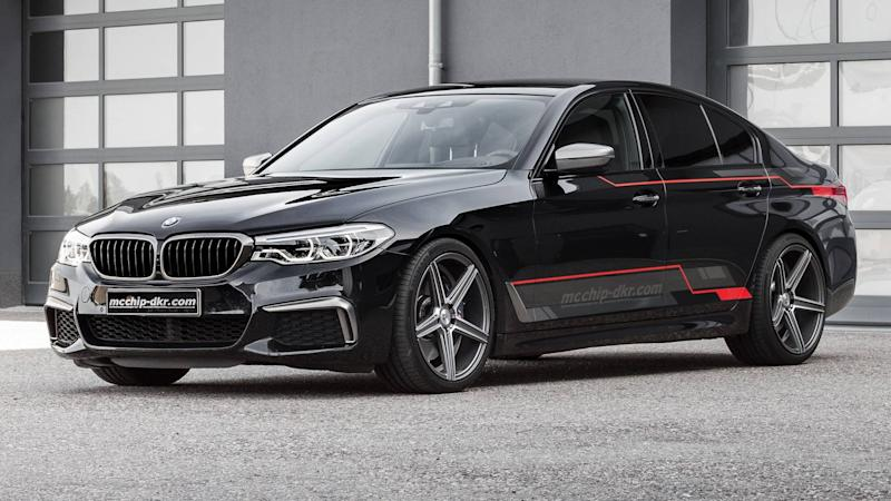 BMW M550d xDrive by mcchip-dkr
