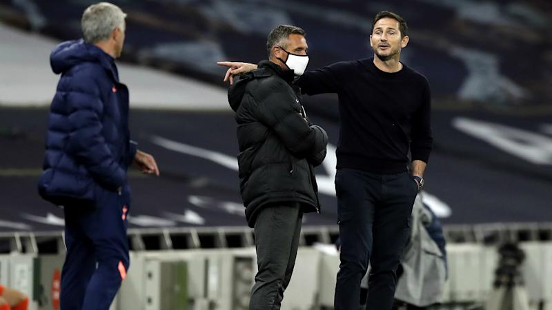 Lampard and Mourinho reveal what was said in touchline spat as Spurs beat Chelsea