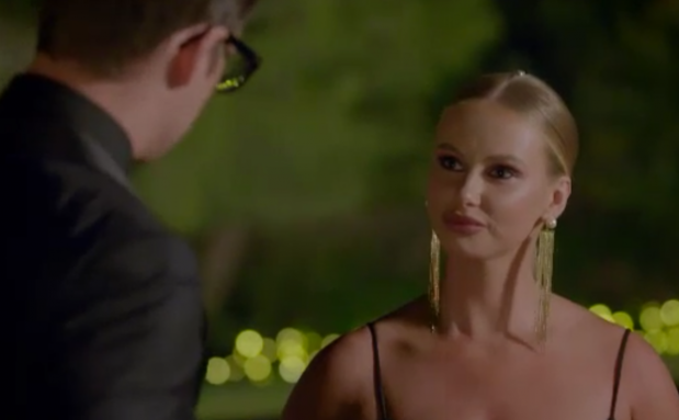 Rachael's exit from The Bachelor was a dramatic one. Photo: Channel 10