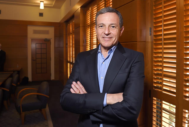 Disney CEO Bob Iger; AP Photo/Mark J. Terrill