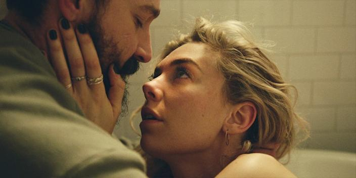 """Shia LaBeouf and Vanessa Kirby in """"Pieces of a Woman."""" <span class=""""copyright"""">(Toronto International Film Festival)</span>"""
