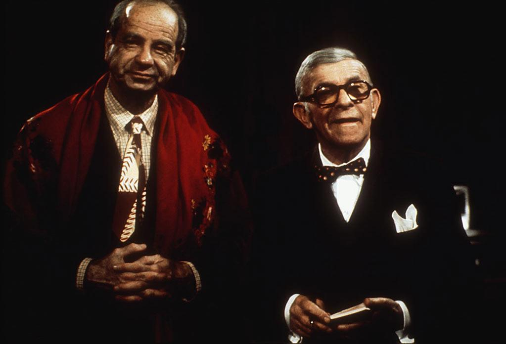 "Best Supporting Actor Nominee - George Burns, 80, ""The Sunshine Boys"""