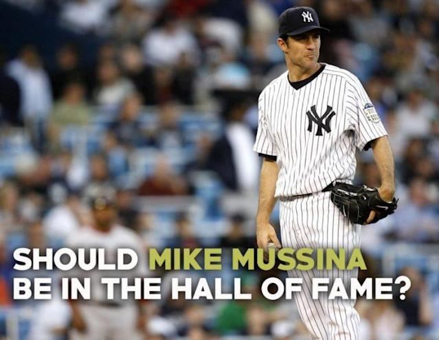 Would Mike Mussina get a check on your Hall of Fame ballot? (Getty Images)