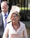 <p>Sophie, Countess of Wessex looked wonderrful in a light pink ensemble on the day. (Indigo/Getty Images)</p>