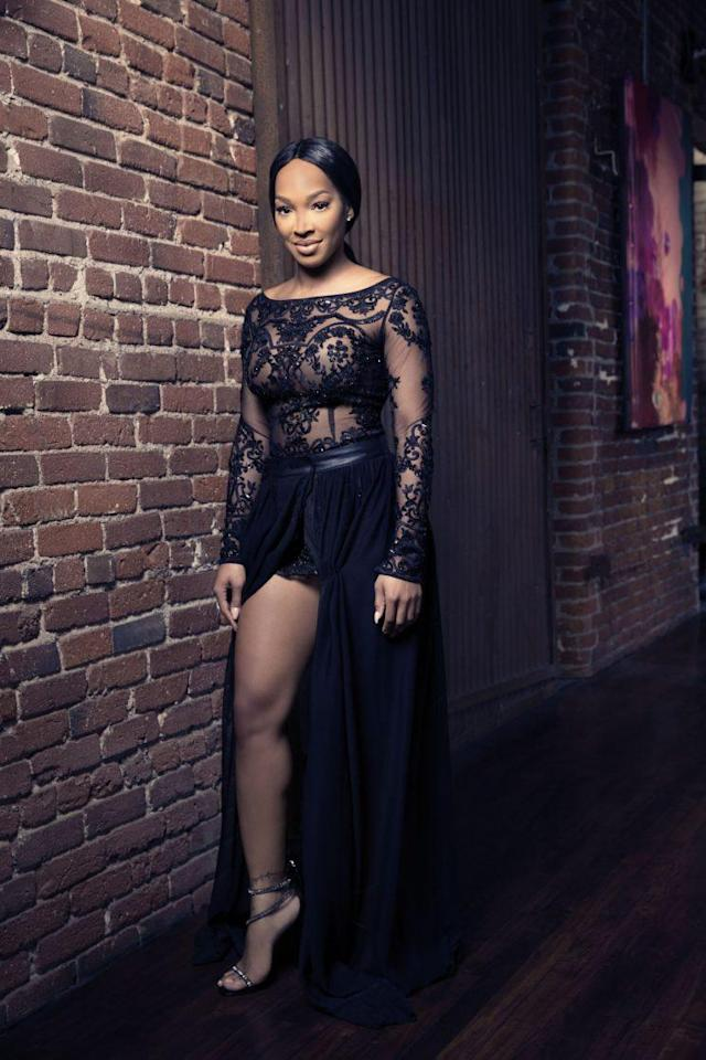 Malika Haqq is currently starring on Season 2 of <em>Famously Single</em>. (Photo: E!)