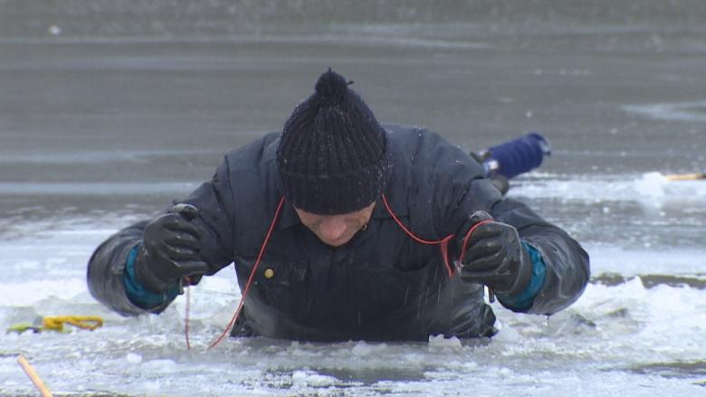 Staying alive: How to survive a fall through the ice