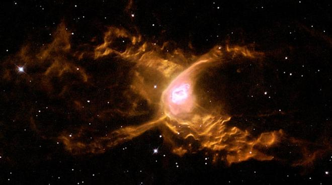 nasa, ESA, nebula, luminous, space, Red Spider Nebula,