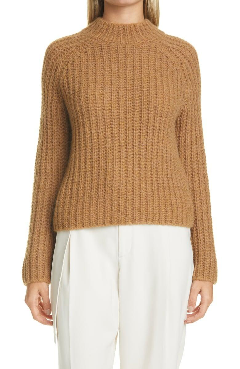 <p><span>Vince Marled Shaker Stitch Raglan Sleeve Sweater</span> ($298, originally $425)</p>