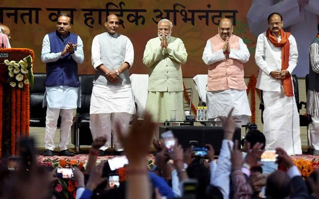 BJP announces observers for UP, Uttarakhand, Manipur; Amit Shah to take final call on CMs
