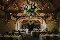"""<p>A wedding venue for all the seasons, the main barn can comfortably host up to 155 for a seated wedding breakfast, with a maximum of 220 for dancing. Meanwhile, the Nook provides the ideal dressing room for the bride and her party to get ready in the morning and St Mary's - a 12th</p><p>Century church in the village of Launton - is just a short stroll away for those wanting a religious ceremony prior to the festivities. </p><p>As for food, local caterer Absolute Taste is in charge of the food, so you can count on an extensive menu of seasonal and locally sourced dishes that can be played up or down to suit the style of your day. </p><p>Find out more <a href=""""https://www.thetythebarn.co.uk/"""" rel=""""nofollow noopener"""" target=""""_blank"""" data-ylk=""""slk:here"""" class=""""link rapid-noclick-resp"""">here</a>. </p>"""