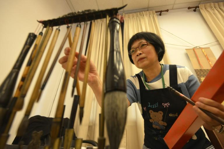 Yang Shu-wan sees calligraphy as one of Taiwan's most important cultural assets and teaches the art to students as young as five